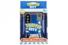Trafikljus och fartkamera