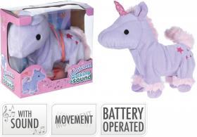 Unicorn med rörelse & ljud