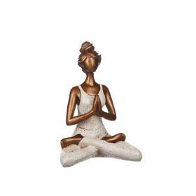 Yogakvinna (White)
