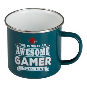 Retromugg Emalj - GAMER