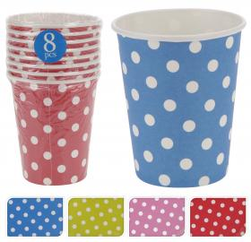 Pappersmugg 8-pack