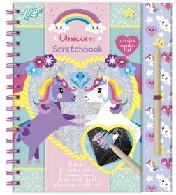 Scratchbook -Unicorn