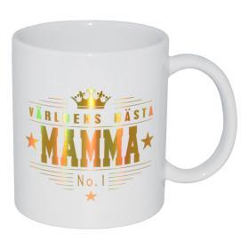 Mugg -Världens bästa Mamma No.1