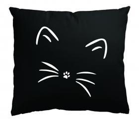 Örngott -Svart katt