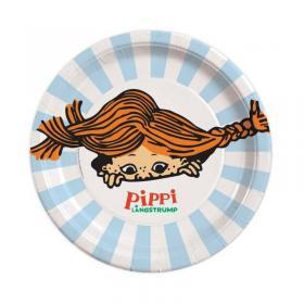 Engångstallrikar -Pippi