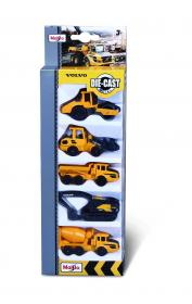 Leksaksbilar i 5-pack -Arbetsfordon