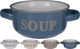 Soppskål med handtag
