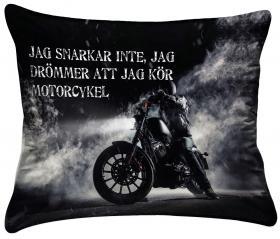 Örngott- Drömmen om motorcykel
