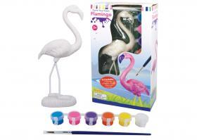 Måla din egen flamingo