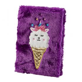 Anteckningsbok -Lama Ice cream