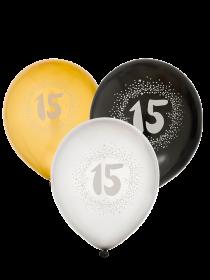 """Ballonger i 6-pack """"15"""""""