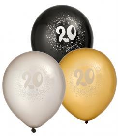 """Ballonger i 6-pack """"20"""""""