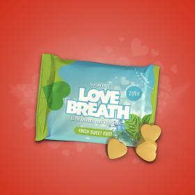 Pastiller -Love Breath Fresh Sweet Mint