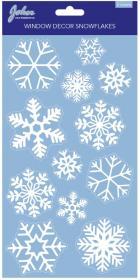 Fönsterdekor -Snöflingor