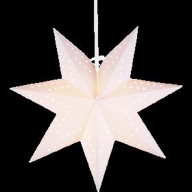 Pappersstjärna 34 cm (Vit)