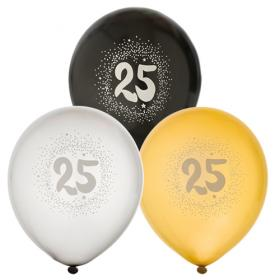 """Ballonger i 6-pack """"25"""""""