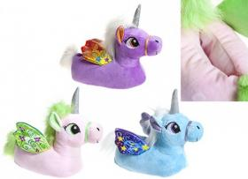Tofflor pastell -Unicorn