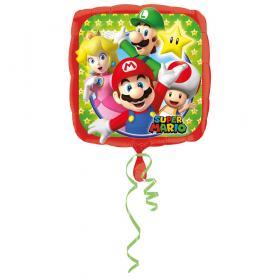 Folieballong -SUPER MARIO med vänner