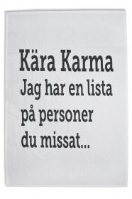 Kökshandduk - Karma