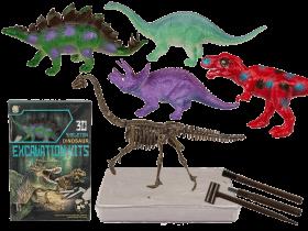 Utgrävningsset - Dinosaurie