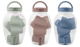 Dryckesbehållare med tappkran set