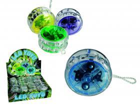 Yo-yo med LED