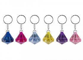 Nyckelring -Diamant