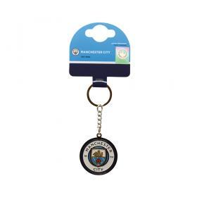 Nyckelring med klubb emblem -Manchester City