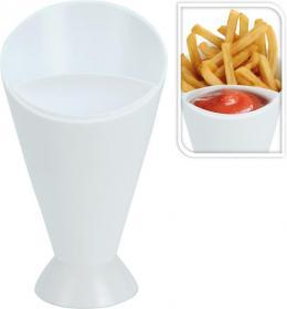 Snackshållare med dipskål