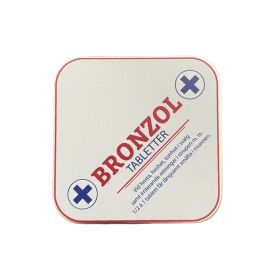 Bronzol tabletter i plåtask