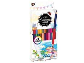 Dubbelsidiga färgpennor 12-pack