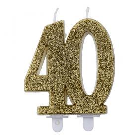 Tårtljus 40 år