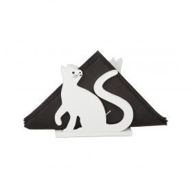Servettställ -Katt