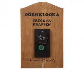 Dörrklocka -MUSFÄLLA