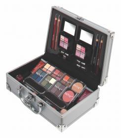 Make-up väska med smink