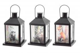 Ljuslykta med djurmotiv