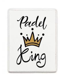 Kylskåpsmagnet -Padel King