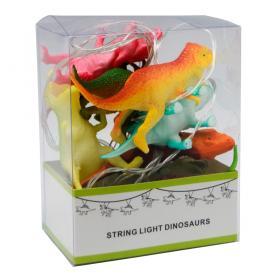 Ljusslinga LED -Dinosaurie