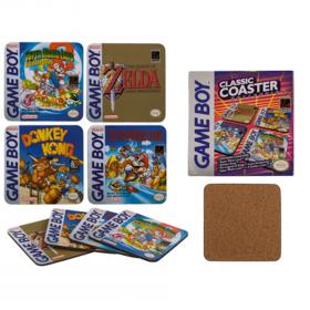 Glasunderlägg -Game Boy