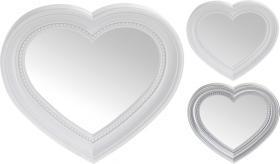 Hjärtformad spegel