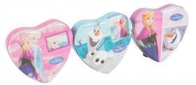 Hjärtformad plåtburk -Disney Frozen