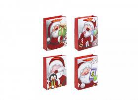 Presentpåse med julmotiv