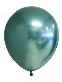 Spegelballonger i 6-pack (Grön)