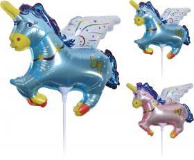 Folieballong 32X 26cm -Unicorn