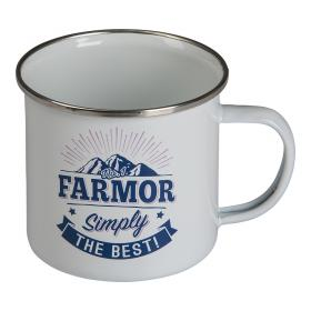 Retromugg Emalj - FARMOR