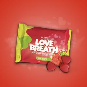 Pastiller -Love Breath Het Melon