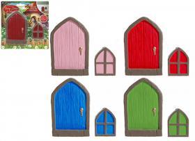 Älvornas trädgård - Dörr och fönster