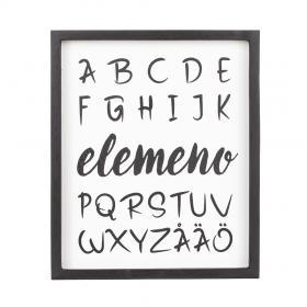 Tavla Alfabetet som det låter
