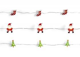 Ljusslinga med julmotiv