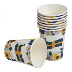 Pappersmugg i 8-pack -Sverige